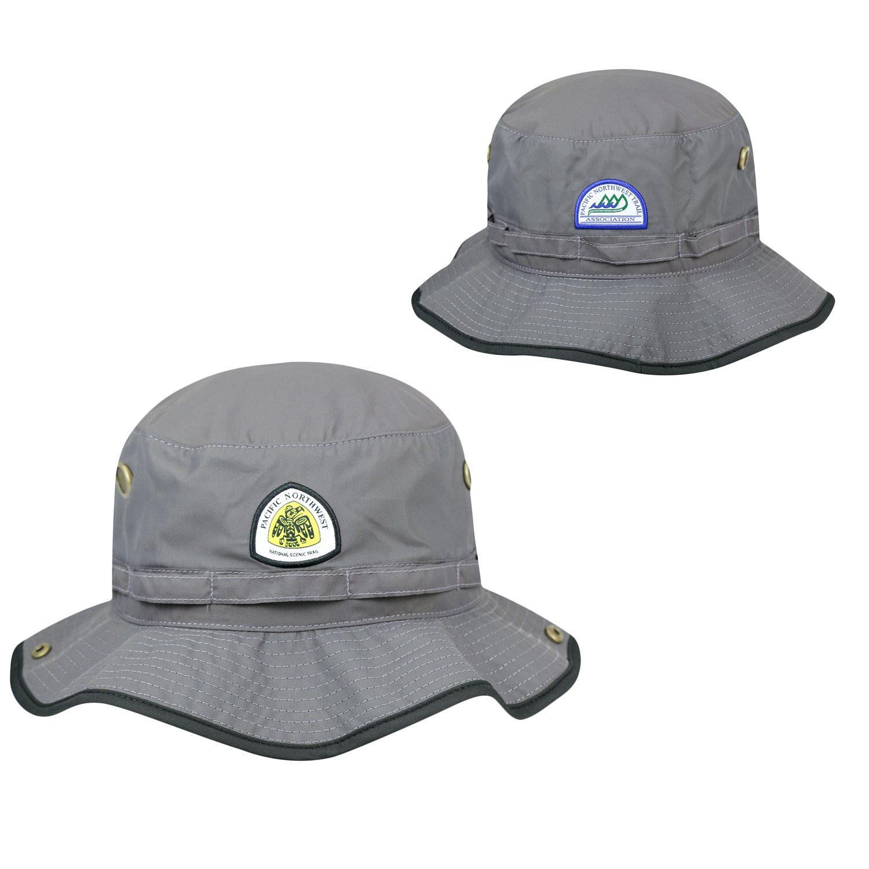 PNT Logo Bucket Hat - Gray